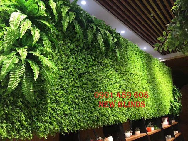 cỏ nhân tạo ốp tường