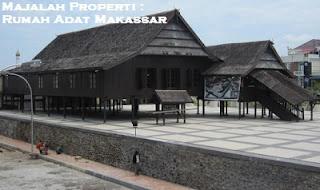 Desain Bentuk Rumah Adat Makassar dan Penjelasannya, Balla Lompoa