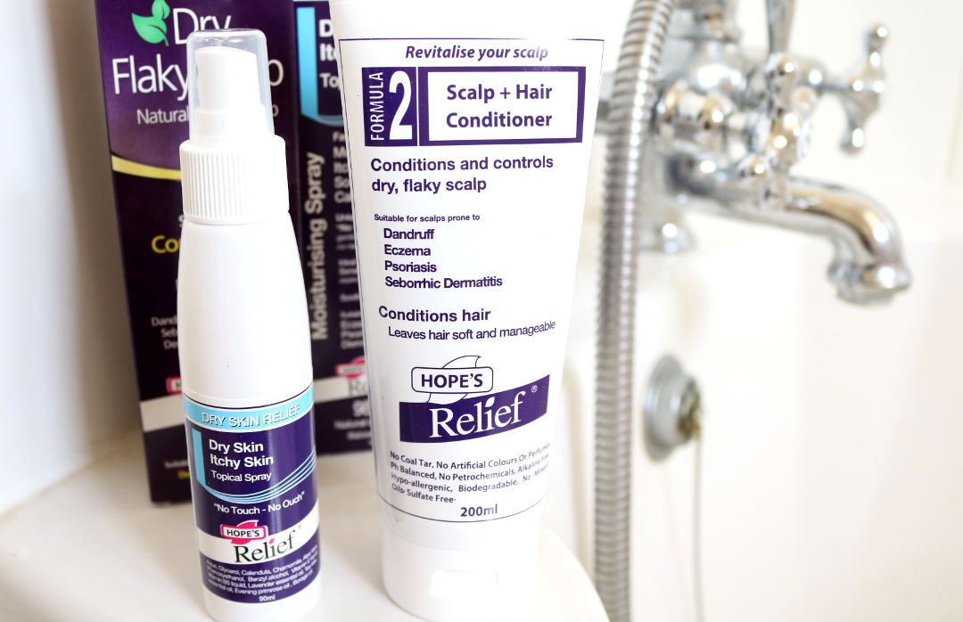 Skincare Helpers from Hope's Relief for Eczema, Psoriasis and Dermatitis