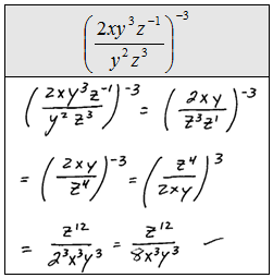 Printables Simplifying Negative Exponents Worksheet openalgebra com negative exponents scientific notation is an application of it used to express very large or small numbers