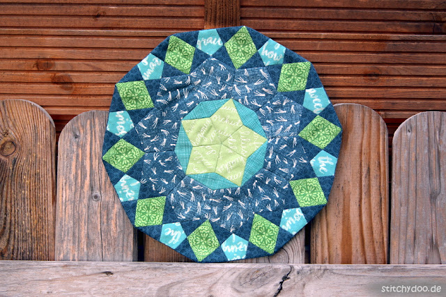 stitchydoo: La Passacaglia Mini | English Paper Piecing Untersetzer