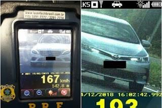 Fiscalização com radares móveis começa nesta quinta-feira após aumento de 19% em multas nas rodovias da PB