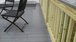 Pressure treated deck ideas
