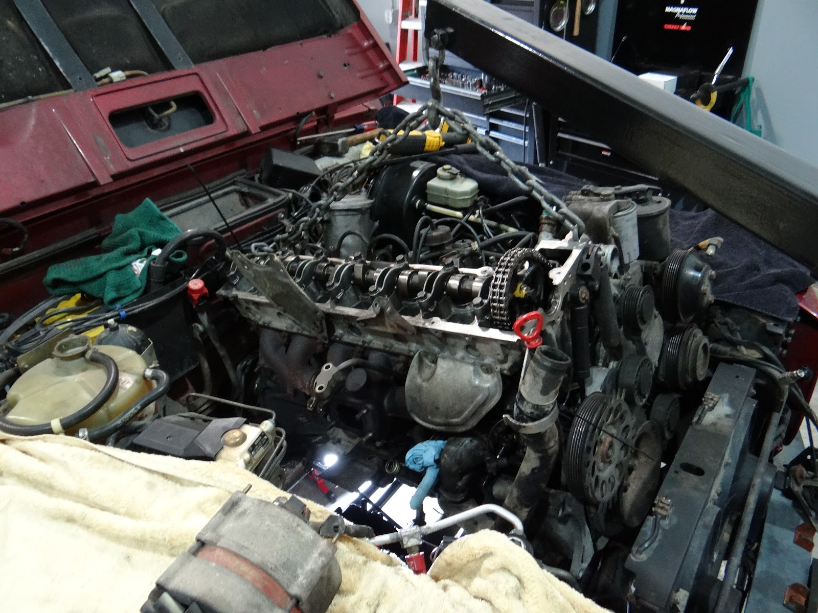 W463: 1994 Mercedes 350GD Engine Swap Part 2 ~ Artisan