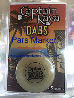 Captain Kava Dabs at Pars Market Columbia Maryland 21045