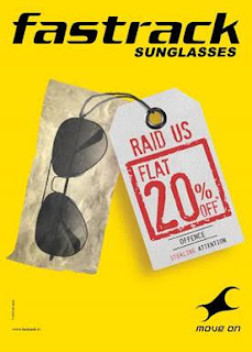 Fastrack offers flat 20% off on all sunglasses!