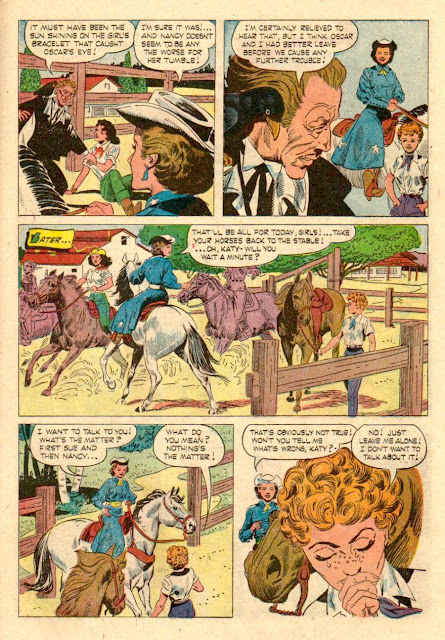 Queen of the West Dale Evans #3 - Russ Manning silver age comic book page