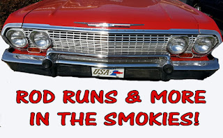 Rod Run in Pigeon Forge Tennessee