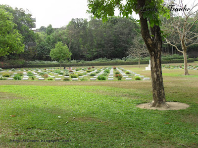 World War II Cemetery in Chittagong