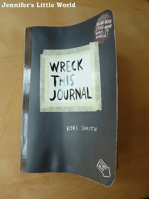 Book review - Wreck This Journal by Keri Smith