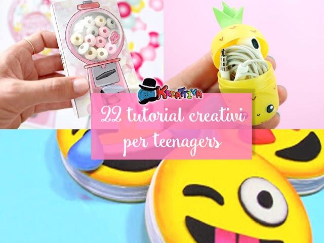 lavoretti creativi per teenager