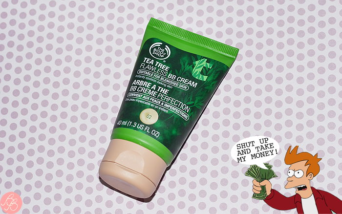 Shut up and take my money! - BB Cream Árbol de té The Body Shop