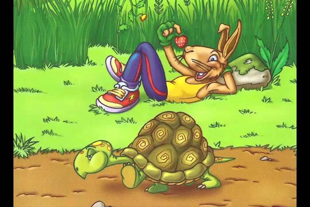 Fábula A lebre e a tartaruga - Planos de Aula Fundamental I