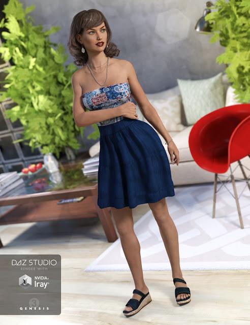 Summer Dress Set