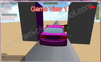 car ticketing machine game view 1