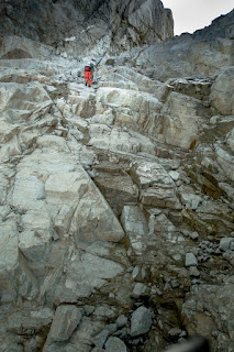 typical granitic rock terrain, mostly simple class 2