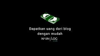 Cara Menghasilkan Uang Dari Blog Melalui Google Adsense