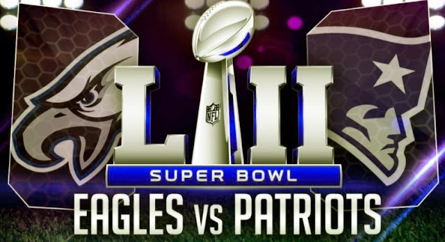 Super Bowl LII Eagles vs Patriots Live Stream 2018