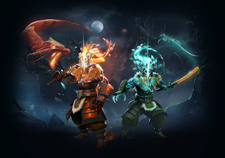 Panda-Shop Dota 2: Gambar Set / Courier / Ward / HUD