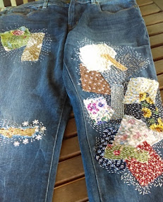 Simple Living Toowoomba Visible Mending: Boro and Sachiko Inspired ~ 8th June