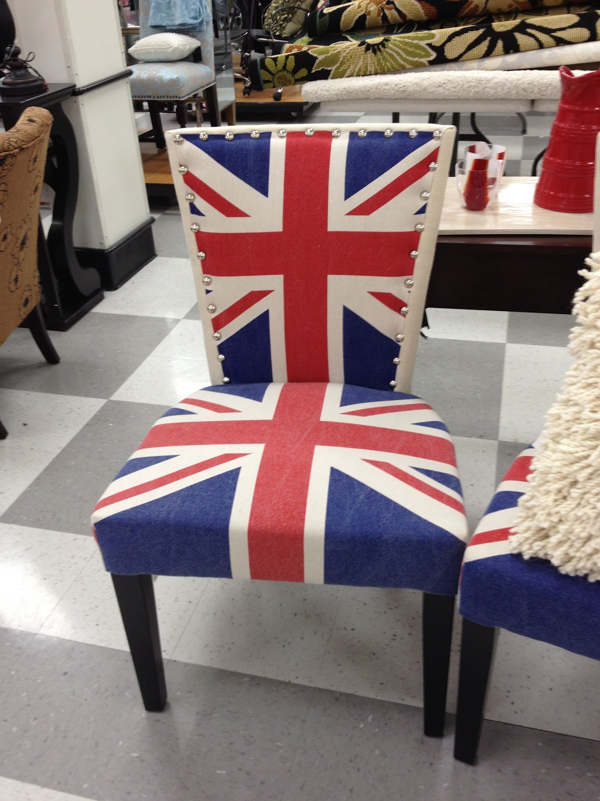 Union Jack in Home Decor  Driven by Decor