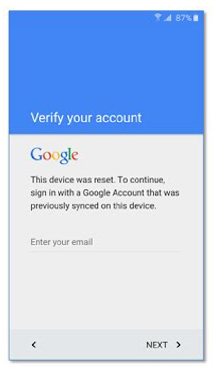 samsung frp lock verification screenshot - ww.solutioninhindi.com