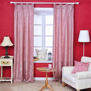 salas color rosa