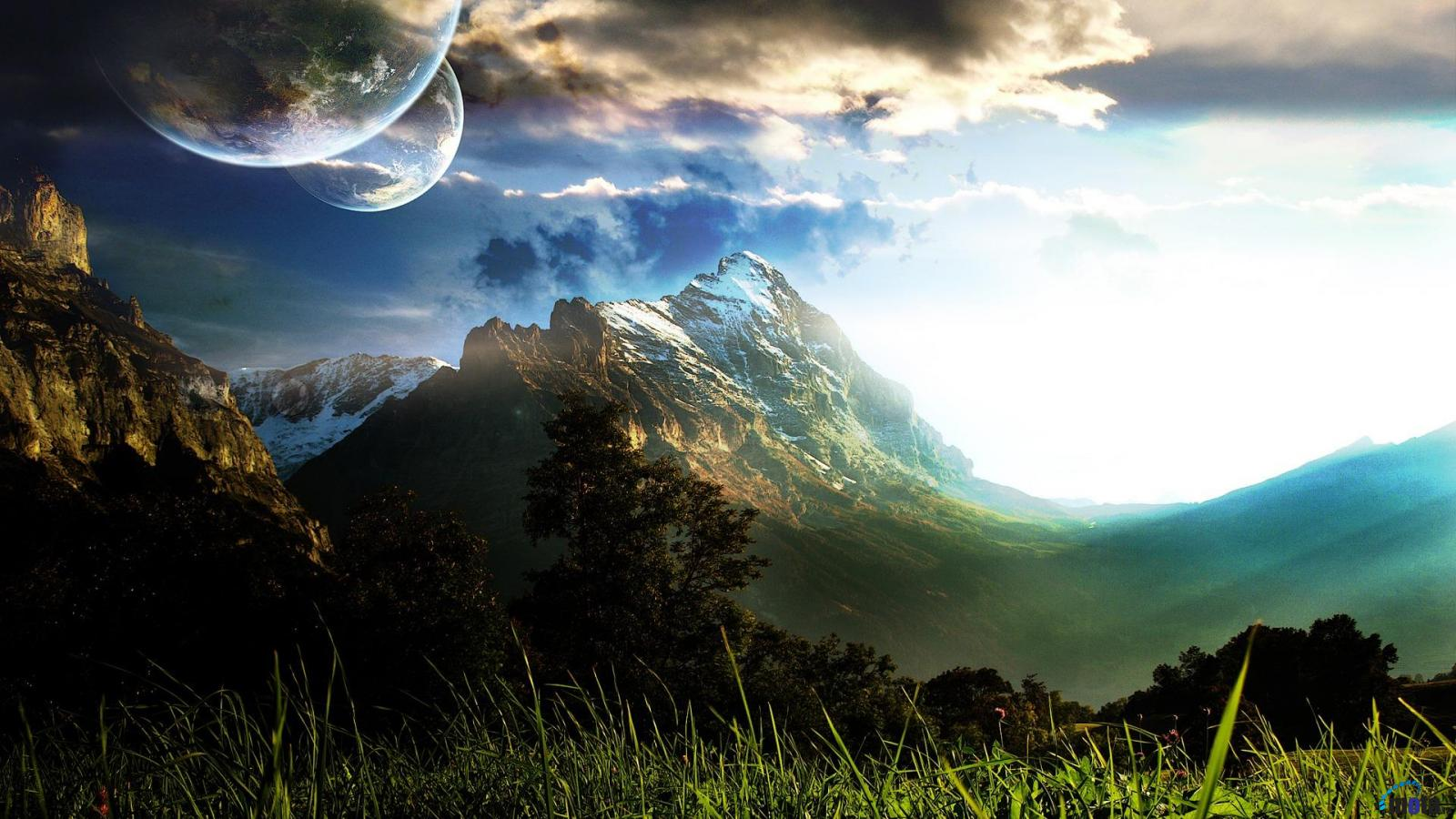 epic landscapes landscape backgrounds wallpapers fantasy nature scenery background chillstep desktop 3d screen