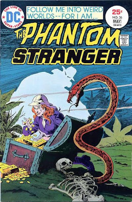 Phantom Stranger #36, Jim Aparo, gold and treachery in the jungle