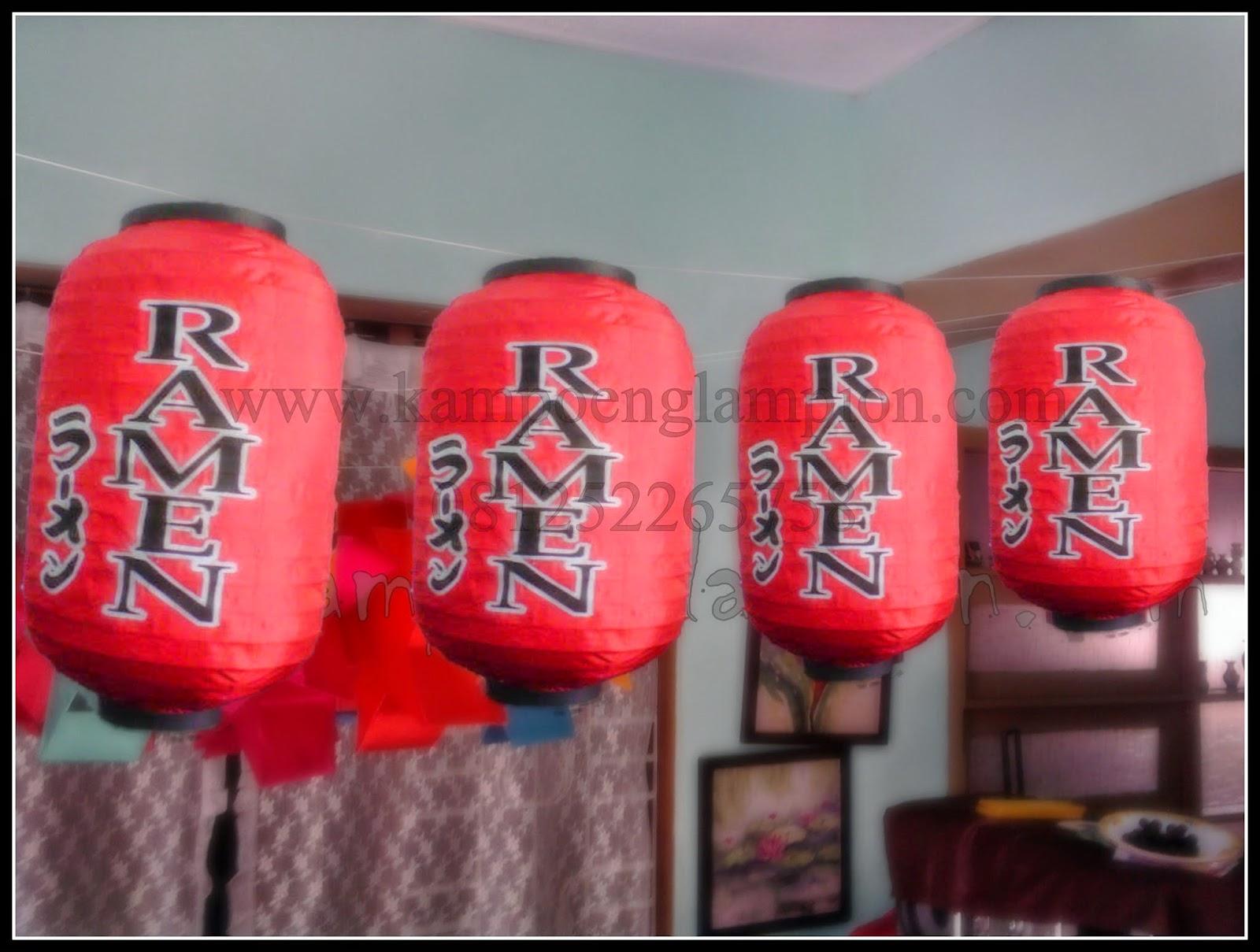 LAMPION Kapsul (Ramen Japanese)