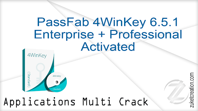 PassFab 4WinKey 6.5.1 Enterprise + Professional Activated  |  361 MB