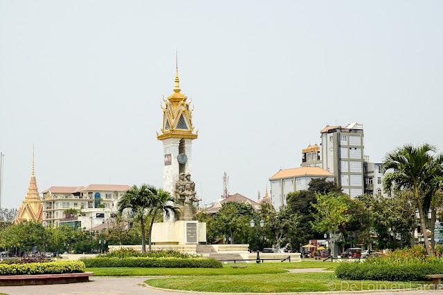Monument de l'amitié Cambodge-Vietnam - Phnom Penh - Cambodge