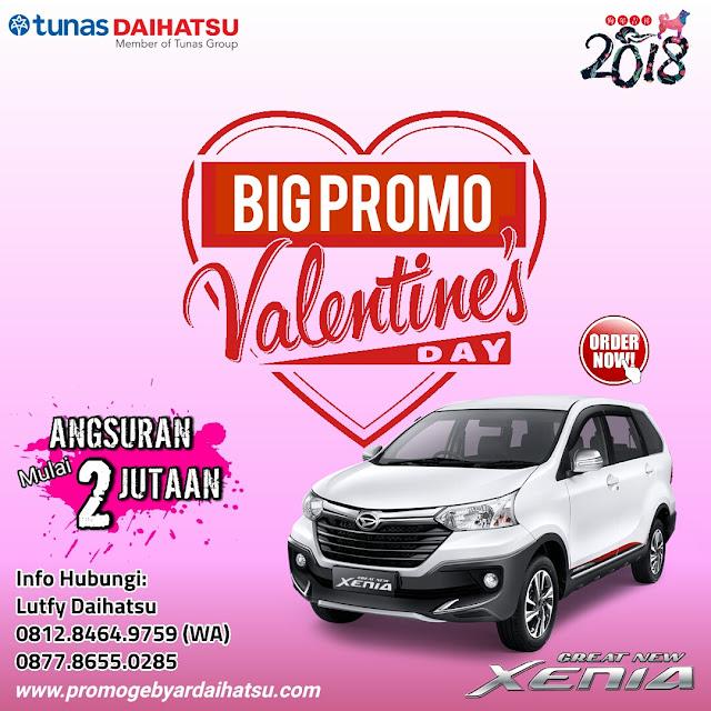 Promo Daihatsu Xenia Spesial Valentine 2018, Angsuran 2 Jutaan