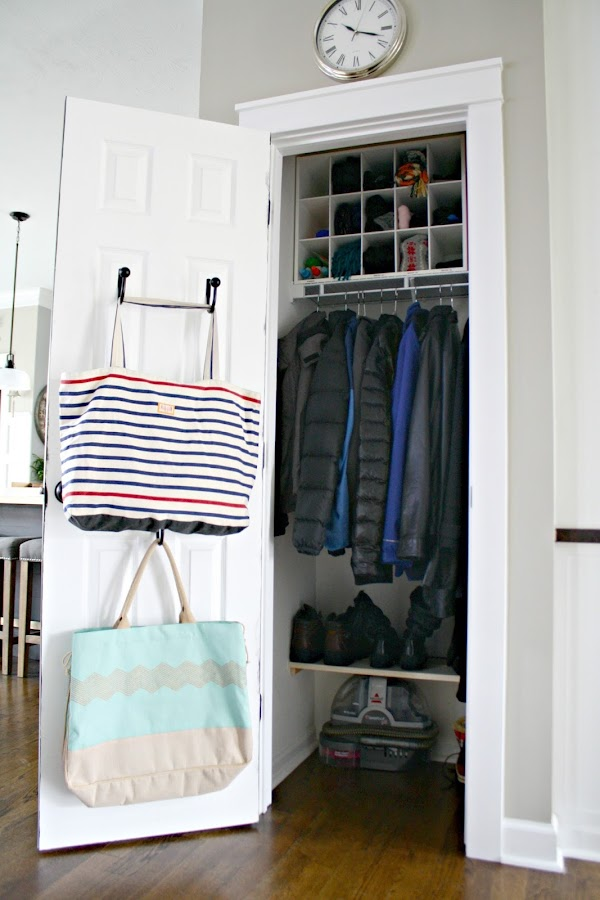 Tips for an organized coat closet