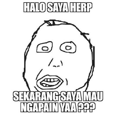 10 Meme Lucu 'Herp' yang Kocaknya Malah Bikin Emosi Jiwa