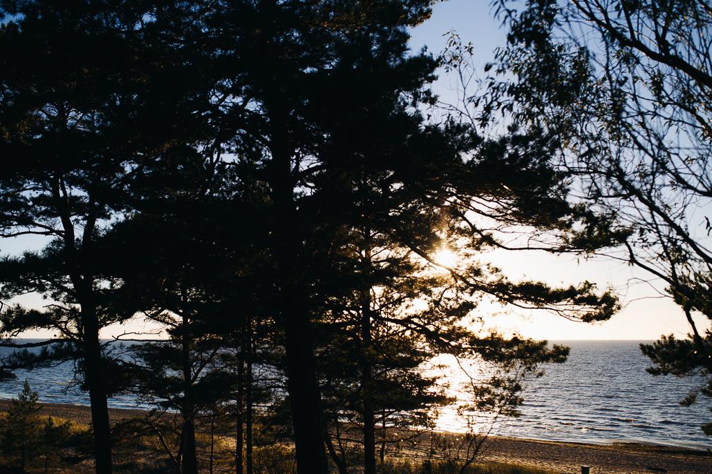 skaista saulkrastu pludmale