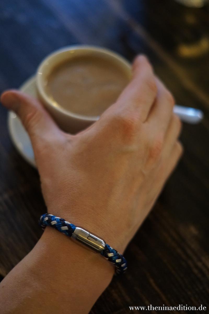 Fischers Fritze Armband Makrele Blau