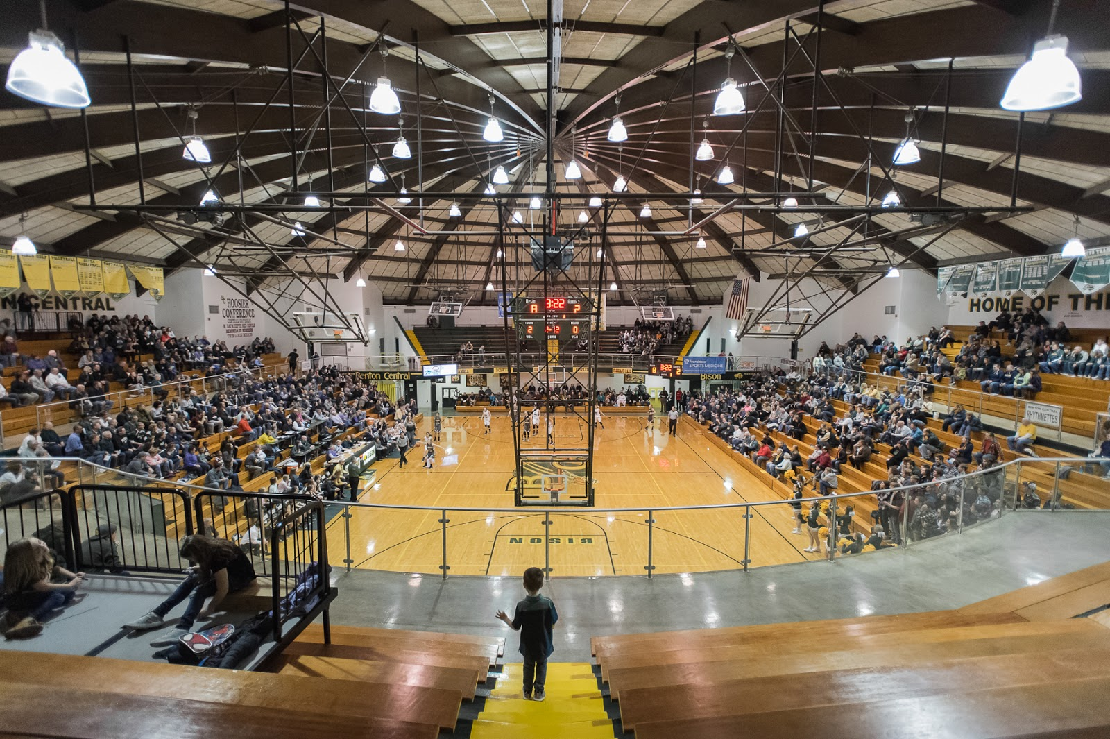 Tell City Indiana >> Hoosier Hardwood: benton central, scenes from a sectional