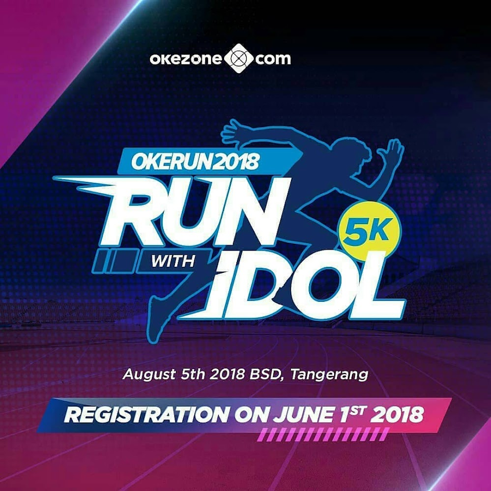 Oke Run - Run with Idols • 2018
