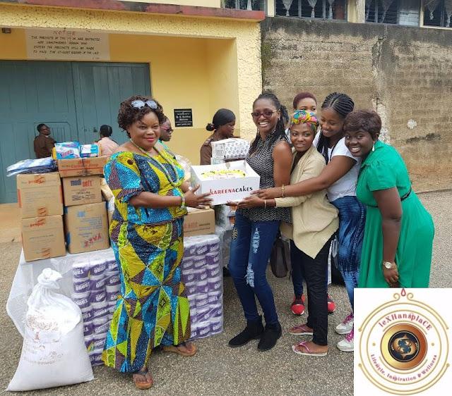 mildred menkiti at the Nsawam Female Prisons, Nsawam, Ghana 5