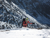 Mount Democrat in the snow