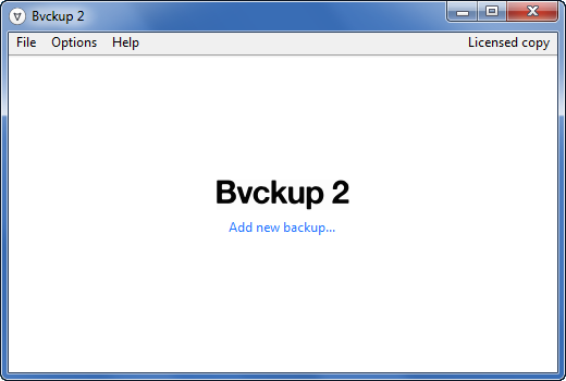 Bvckup 2 Release