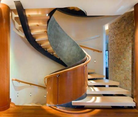 Contoh model tangga rumah yang modern