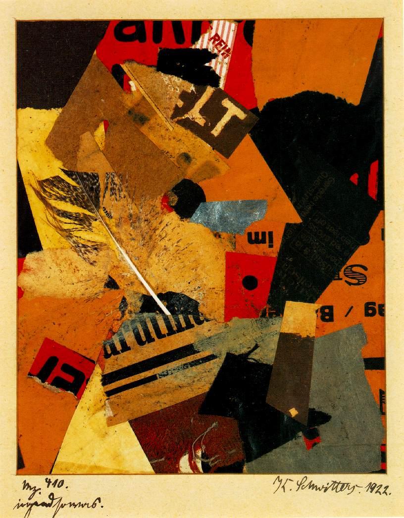 Merz: ART & ARTISTS: Kurt Schwitters