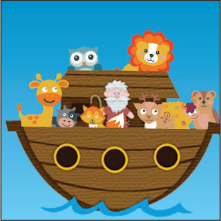 Noah's ark cartoon picture