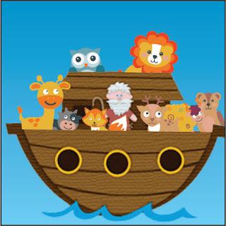 Noah's ark cartoon picture