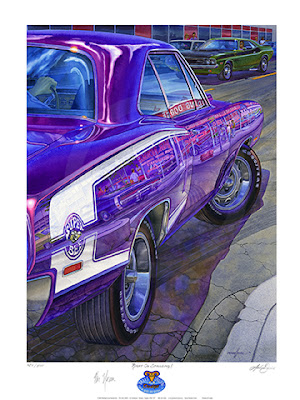 Grand Spaulding Dodge painting