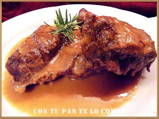 Carrilleras de cerdo iberico al Pedro Ximenez