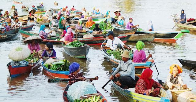 Warisan Sejarah Khas Banjarmasin, Pasar Terapung!