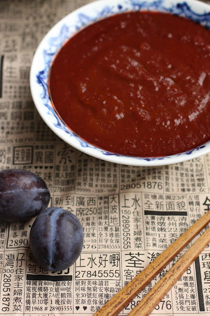 sauce chinoise aux prunes